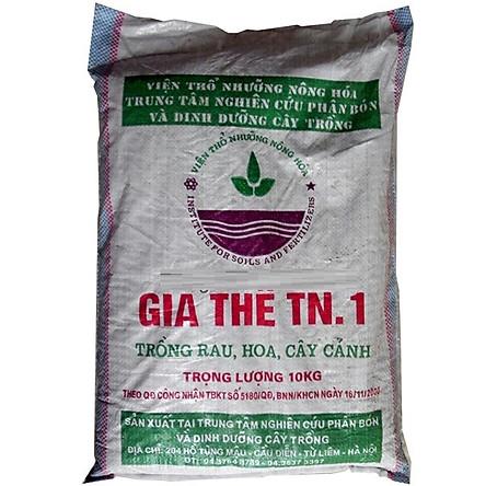 Đất sạch trồng rau, giá thể TN.1 (10kg/bao)