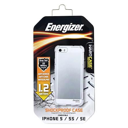 Ốp Lưng Trong Energizer Chống Sốc 1.2m Cho iPhone 5 ENCMA12IP5TR - Hàng Chính Hãng