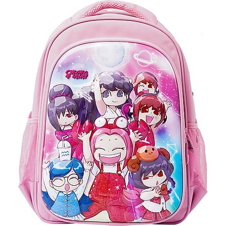 Balo Chống Gù Lớp Học Mật Ngữ Closet Pink Girlie Dollies