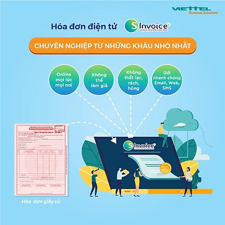 Phần mềm hóa đơn điện tử Viettel Sinvoice- Gói 100000 hóa đơn điện tử Viettel - HÀNG CHÍNH HÃNG 100%