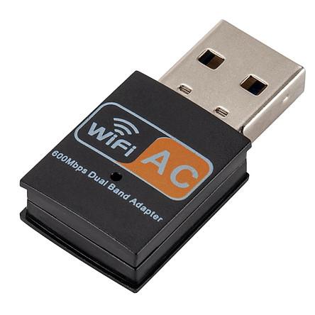 Không Dây USB Wifi Mini Mạng Dongle 600Mbps Windows Mac