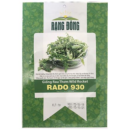 Hạt Giống Rau Thơm Wild Rocket Rado 930