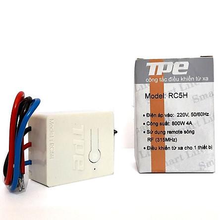 Công tắc điều khiển từ xa cho máng đèn TPE RC5H