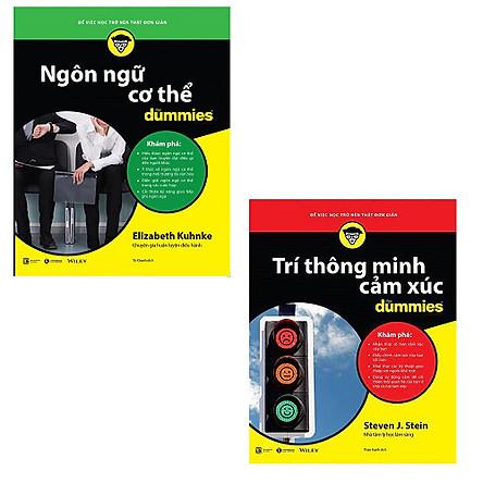 Bộ 2 cuốn sách Dummies: Ngôn Ngữ Cơ Thể For Dummies - Trí Thông Minh Cảm Xúc For Dummies