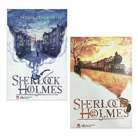 Combo 2 Cuốn Truyện Trinh Thám: Sherlock Holmes – Tập 1 + Sherlock Holmes – Tập 2 / Những Cuốn Truyện Trinh Thám Hay Kinh Điển (Tặng Kèm Bookmark Happy Life)