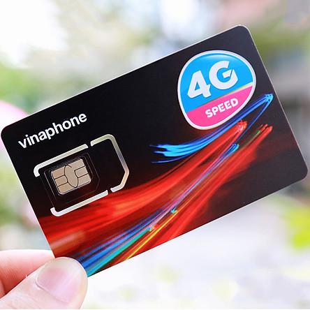 Sim 4G Vinaphone D60G Tặng 2GB/Ngày, Miễn Phí Gọi Nội Mạng, 50 Phút Ngoại Mạng - Hàng Chính Hãng