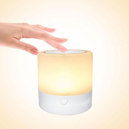 7Colors Change USB Rechargeble Led Touch Night Light Table Bedside Nursing Lamp