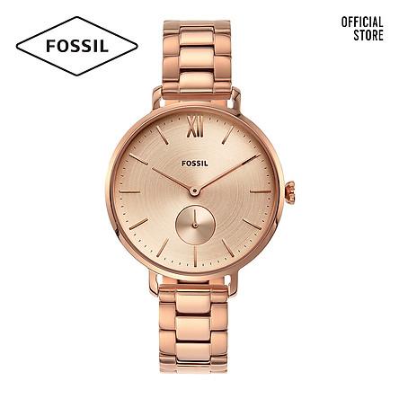 Đồng hồ nữ FOSSIL dây thép không gỉ Kayla ES4571 - màu rose gold