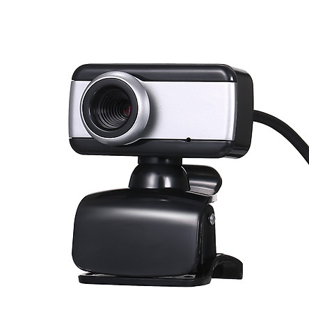 USB 2.0 480P High-definition Web Camera Clip-on Base with Microphone Portable for Desktop Computer Video Call