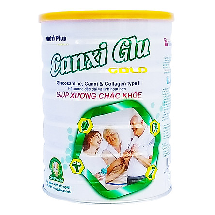 Sữa bột Nutri Plus Canxi Glu dành cho người già, loãng xương, giúp xương chắc khỏe 900G Sunbaby ACSBTH2019