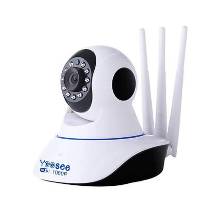 Camera IP siêu nét Full HD 1080P, đàm thoại 2 chiều Yoosee 3 Anten 2.0  - Hàng chính hãng