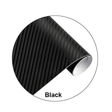 Car Decal Car Sticker Black Carbon Fiber DIY Wrap Paper