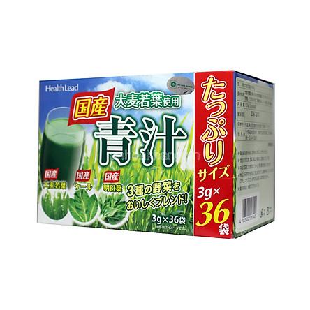 Thực Phẩm chức năng Hộp Bột lúa mạch non Health Lead loại Premium (hộp 36 gói)