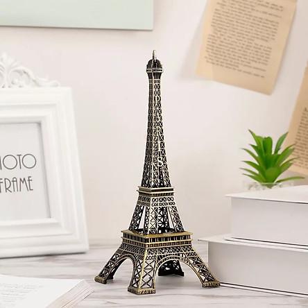 Mô hình Tháp Eiffel bằng Thép Không Gỉ size 18 Cm