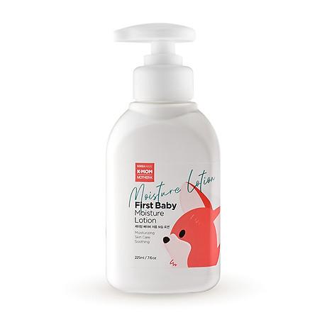 Sữa dưỡng ẩm Jojoba hữu cơ K-Mom 225ml Km13608 Thành phần được chứng nhận hữu cơ EcoCert Phù hợp dành cho trẻ từ 0m+