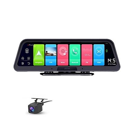 Camera hành trình Phisung đặt taplo ô tô, xe hơi cao cấp 10inch tích hợp 4G, Wifi, GPS Q98