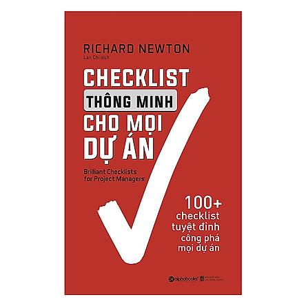 Checklist Thông Minh Cho Mọi Dự Án (Quà Tặng Tickbook)