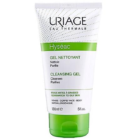 Sữa Rửa Mặt Cho Da Dầu, Mụn Uriage Hyseac Cleansing Gel
