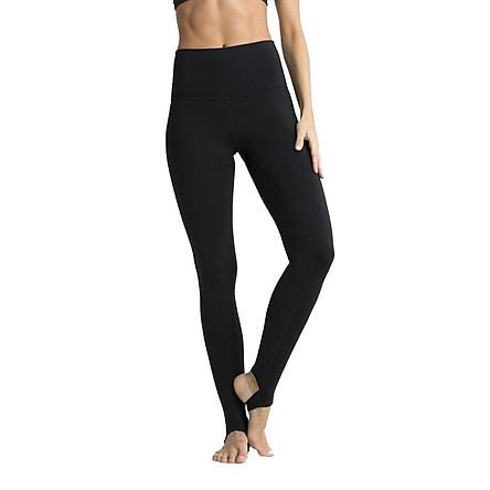 Quần đạp gót nữ tập gym / yoga BDG88 (Đen) Sportslink