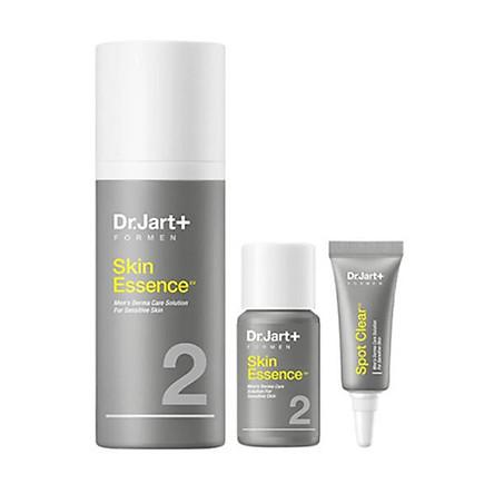Sữa dưỡng ẩm và dưỡng trắng cho da mặt nam giới sau khi cạo râu Dr.Jart+ For Men Skin Essence 100ml (FREE GIFT: FOR MEN ESSENCE 30ml + SPOT CLEAR 3ml)