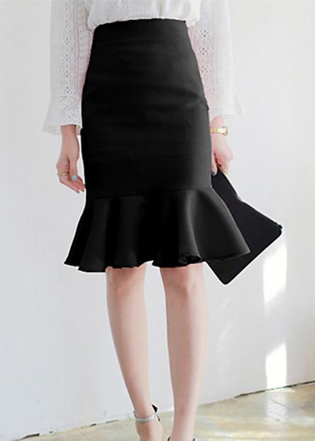 Chân váy ôm chân váy đuôi cá, chân váy công sở freesize 03