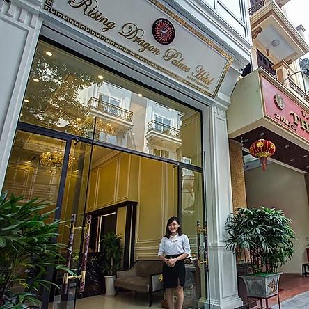Rising Dragon Palace Hotel 3* Hà Nội - Trung Tâm Phố Cổ, Gần Hồ Hoàn Kiếm, Chợ Đồng Xuân