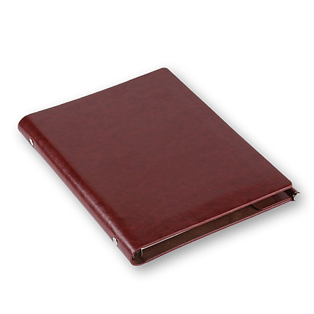 (TRNFA) TB-K828B drawing leather notebook thickening notebook creative 6 hole loose-leaf high-end business diary book book (pink)