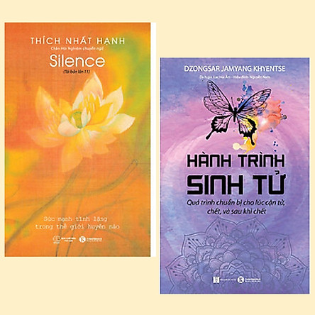 Combo 2 cuốn phép màu cuộc sống: Hành Trình Sinh Tử + Tĩnh Lặng