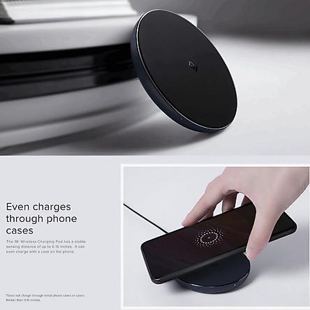 [Bản Quốc Tế] Đế Sạc Không Dây Xiaomi Mi Wireless Charging Pad Chuẩn Qi Sạc Nhanh 10W Max - Hàng Nhập Khẩu