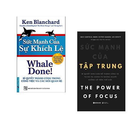 Combo 2 cuốn sách: Sức Mạnh Của Sự Khích Lệ + Sức Mạnh Của Tập Trung