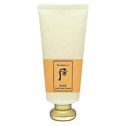 Sữa Rửa Mặt Dưỡng Ẩm WHOO GongJinHyang Facial Foam Cleanser 180ml