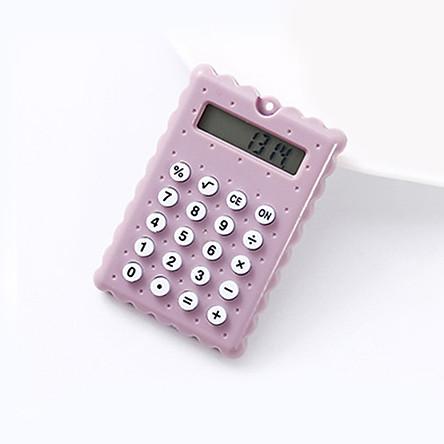 Mini Cute Calculator Pocket Size 8 Digits Display Portable Handheld Cartoon Calculator Electronic Calculator for Office