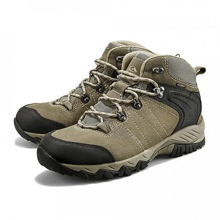 Giày Leo Núi Nữ Nhẹ Thoáng Khí Không Thấm Nước Clorts Vàng