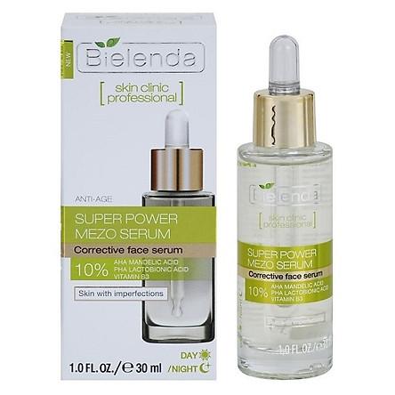 Tinh chất chống lão hóa Bielenda Super Power Mezo Serum Corrector - 30ml