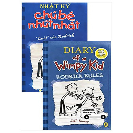 Combo Song Ngữ Diary Of A Wimpy Kid 2 - Luật Của Rodrick