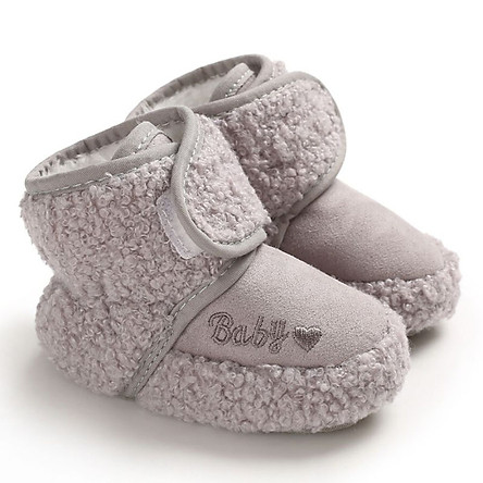 Winter Wram Baby Boots Toddler Girls Shoes Plus Velvet Warm Boots Shoes Faux Fur Booties Baby Girl Boots Sale