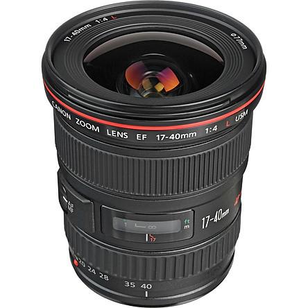 Ống Kính Zoom Góc Rộng Canon EF 17-40mm f/4L USM