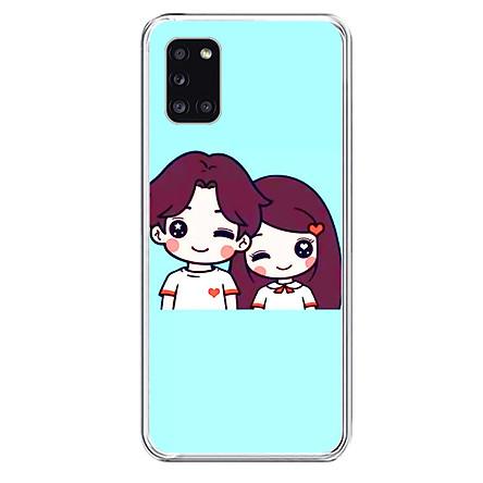 Ốp Lưng Điện Thoại Samsung Galaxy A31 - 01295 Silicone Dẻo - Hàng Chính Hãng