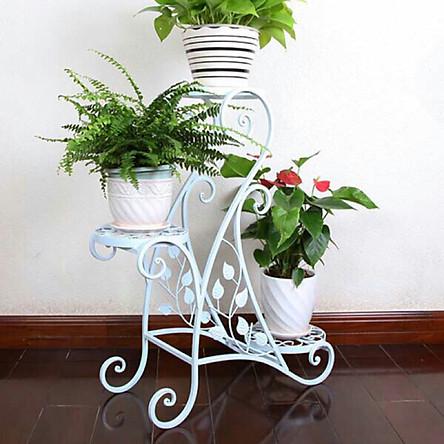 Kệ Để Hoa, Cây Cảnh Trang Trí 3 Tầng