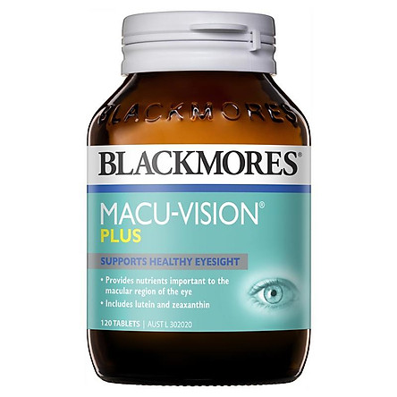 Blackmores Macu Vision Plus 120 Tablets