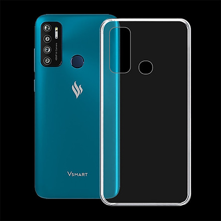 Ốp lưng cho điện thoại VSMART LIVE 4 - 01316 - Ốp dẻo trong suốt, bảo vệ điện thoại - Hàng Chính Hãng