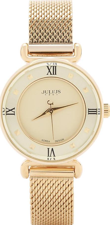 Đồng Hồ Nữ Dây Kim Loại Julius JA-728C (28mm) - Vàng
