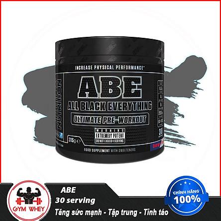 [ Tặng Bình Lắc ] Tăng Sức Mạnh Cơ Bắp Abe Pre Workout 30 Lần