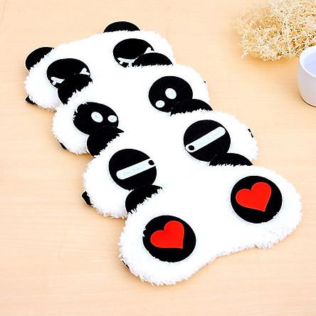 Tấm bịt mắt ngủ hình gấu panda, kiểu dáng dễ thương, ngộ nghĩnh
