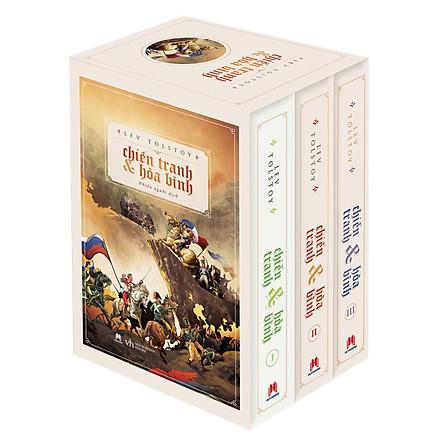 Boxset Chiến Tranh Và Hòa Bình (Trọn Bộ 3 Tập)