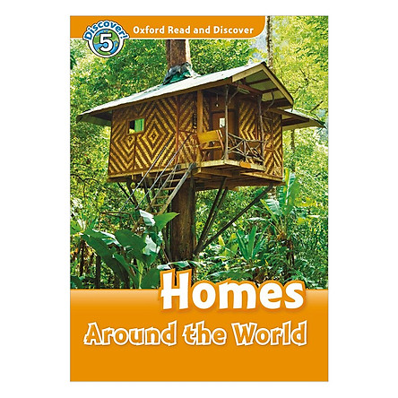 Oxford Read and Discover 5: Homes Around the World Audio CD Pack