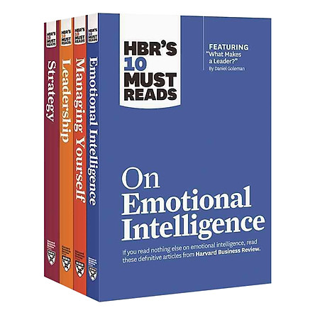 Harvard Business Review's 10 Must Reads Leadership Collection (4 Books)