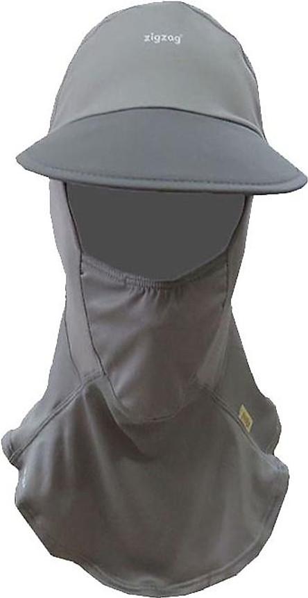 Nón khẩu trang chống nắng UPF50+ xám Zigzag MAS00308
