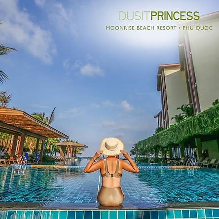 Gói 3N2Đ Dusit Princess Moonrise Resort 5* Phú Quốc - Buffet Sáng, Phòng Hướng Biển, Hồ Bơi Vô Cực, Bãi Biển Riêng, Xe Đón Tiễn Sân Bay, Ngay Trung Tâm Dương Đông