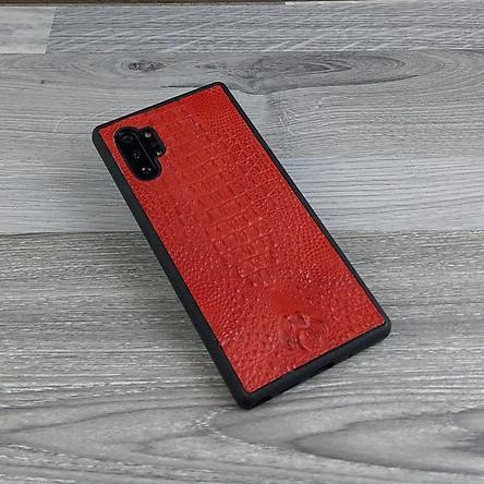 Ốp Lưng dành cho Samsung Galaxy Note 10 Plus Da Cá Sấu Có Gù Chống Sốc